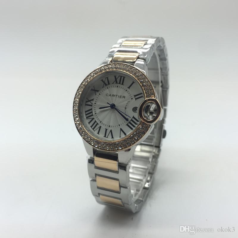 1d0c48c8e2b Compre Nueva Marca De Lujo Relojes De Mujer Mujer Mujer Oro Diseño Reloj De Cuarzo  Mujeres Montre Femme Relojes De Mujer Reloj Femenino Relogio Feminino A ...