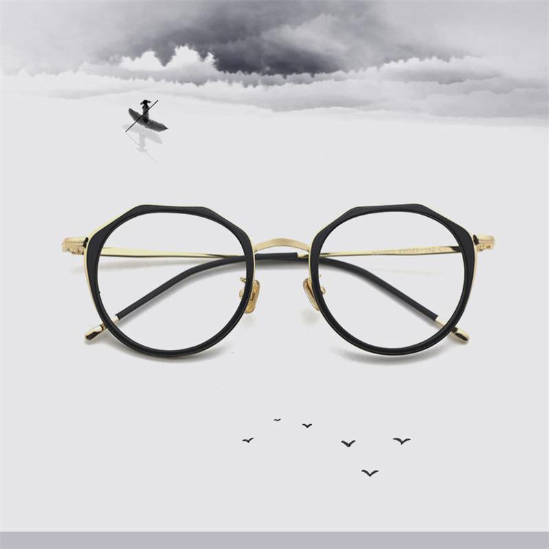 New Brand Designer Glasses For Men Women Multilateral Optical Frame ...