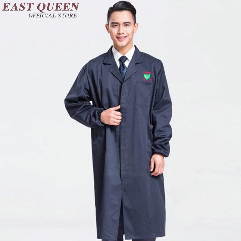 2019 Work Wear For Men Lab Coat Medical Clothing Robe