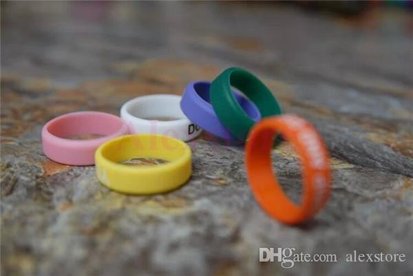 Banda de silicone vape anel de beleza para mods mecânicos rba rda atomizador protetor decorativo antiderrapante mech mod e-cig Doge Lancia orquídea v4 Aris