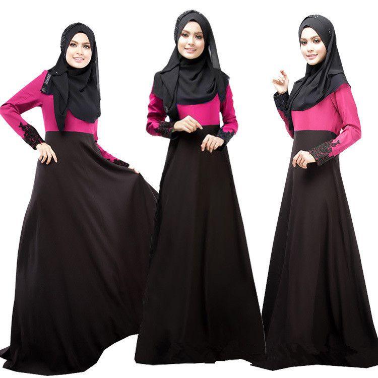 2017 2015 Muslim Women Fashion Dresses Abaya Dubai Lady Clothes ...
