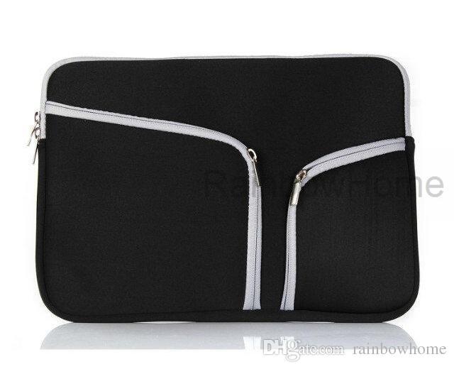 ファッションノートパソコン保護ケースジッパースリーブバッグ用MacBook Air Pro網膜11 12 13 15インチハンドバッグトラベリング防水
