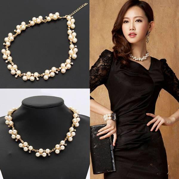 2018 Hot Sale Fashion Jewelry Choker Crystal Neck Chain ...