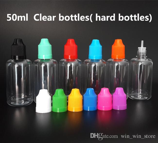 Дешевые e-жидкость Vape e сок бутылка 5 мл 10 мл 15 мл 20 мл 30 мл 50 мл ПЭТ пустые пластиковые бутылки капельницы с Childproof шапки длинные тонкие советы