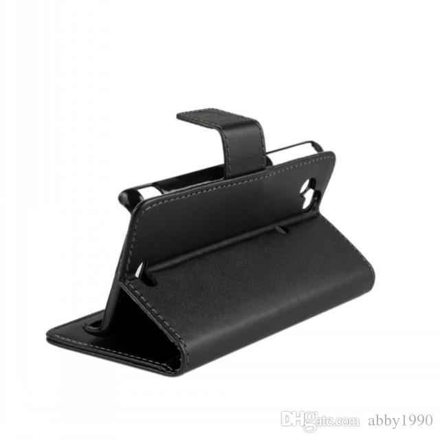 Hurtownie Hot PU Skórzany Składany Portfel Flip Cover Case Dla Sony Ericsson Xperia Arc LT15i Darmowa Wysyłka