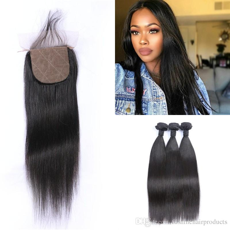 Funmi 3 Bundles Mongolischen Afro Verworrenes Lockiges Haar Mit Verschluss 100% Reines Menschenhaar Bundles Mit Spitze Schließung Für Haar Salon Haarverlängerung Und Perücken