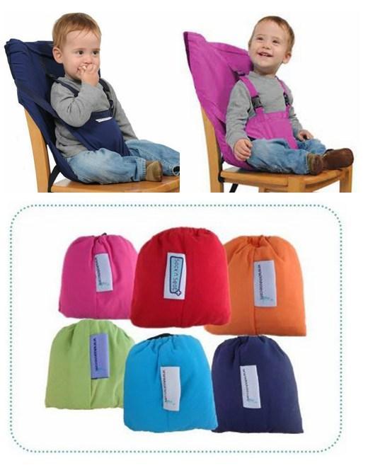 Przenośne Siedzenia Belttravel Feeding Jadalnia Krzesło Pas Niemowląt Toddler Baby High Klasyczki 15 sztuk / partia