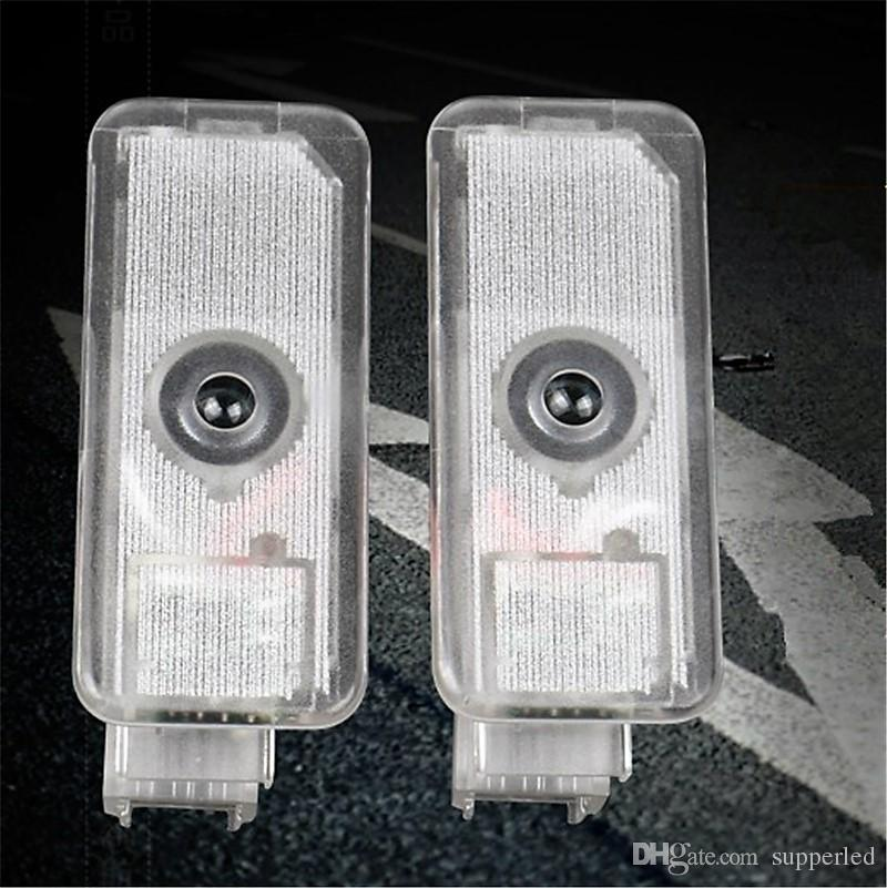Car Courtesy Doors Lights For Peugeot 306 1997~1999 /Peugeot 607 1999~2010 Brand Logo laser Projector Welcome Light Ghost Shadow Lamp