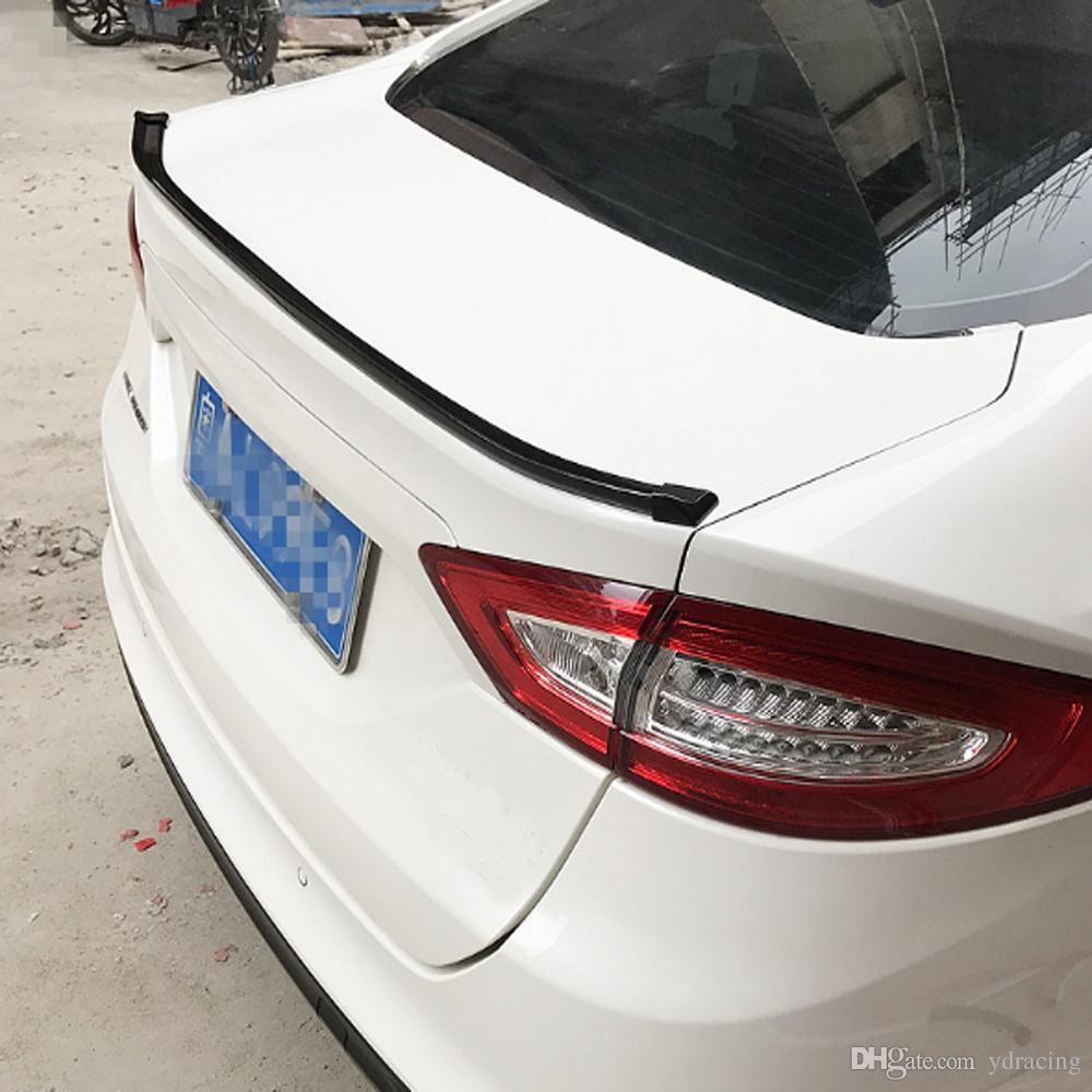 1.5 М Углеродный Внешний Вид Универсальный Мягкий Спойлер Крыла Автомобиля Внешний Задний Спойлер Комплект Подходит Для Audi A3 A4 A5 A6 Подходит Для Любого Седана Автомобилей Любых Лет