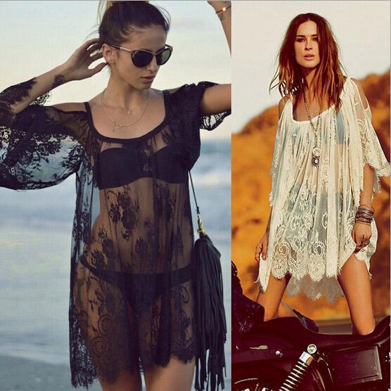 f608f2ec08d 2017 Sexy Women Lace Dress New Summer Shoulder-off Transparent Casual Plus  Size Beach Club Party Short Miini Dresses Smock Cheap Dress A2 Women Club  Party ...