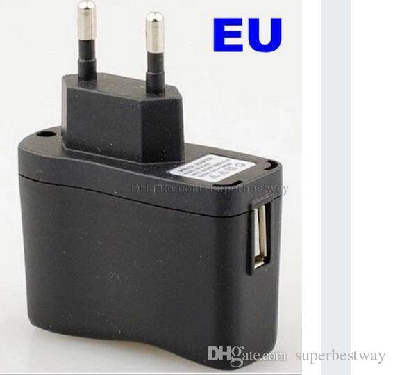 E Cavo USB Cig Caricatore da muro Caricabatterie EGO Adattatore di carica US EU Alimentatore CA batterie ego evod ego c twist FJH02