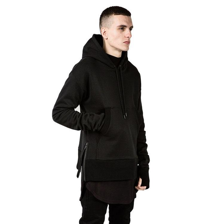 2018 Hype Mens Fashion Hip Hop 2015 Streetwear M 2xl Plain Black ...