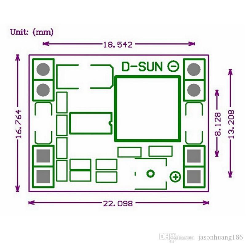 Новый мини DC-DC шаг вниз преобразователь питания модуль напряжения Regualar 4.5-28 В до 0.8-20 в 3a регулируемая Бесплатная доставка