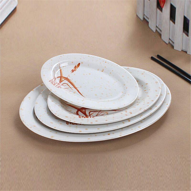 2018 Melamine Dinner Plates Restaurant Dinner Plate