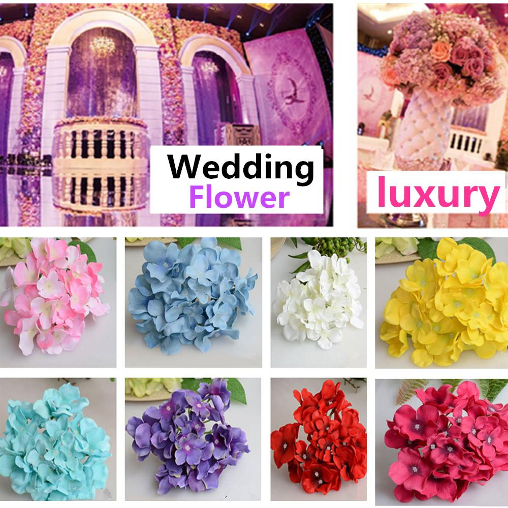 Decorative Flowers Wreaths Online Sale Luxury Artificial Hydrangea