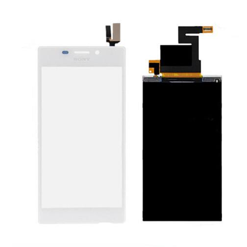 Для Sony Xperia м2 D2302 D2303 D2305 D2306 стекло Touch Digitizer + LCD дисплей