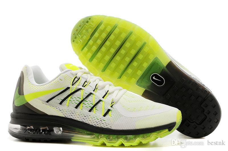 f7ba4252644 Compre Nike Air Max 2015 Flyknit Running Shoes Mens Zapatos ...