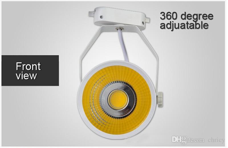 Супер яркий свет следа удара Сид 7W 12W 20W 30W AC85-265V вел фару с тканью угла пучка 30 и украшением магазина дисплея