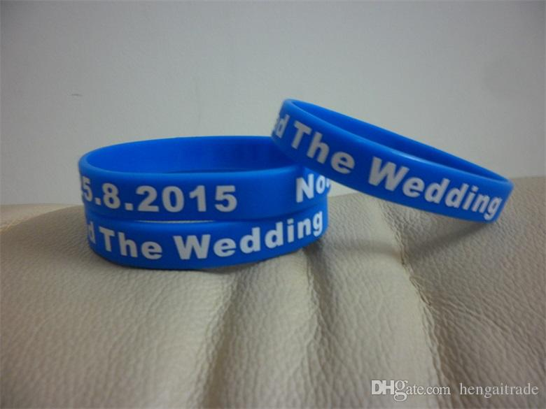 Custom Silicone Wristband With Your Personal Message