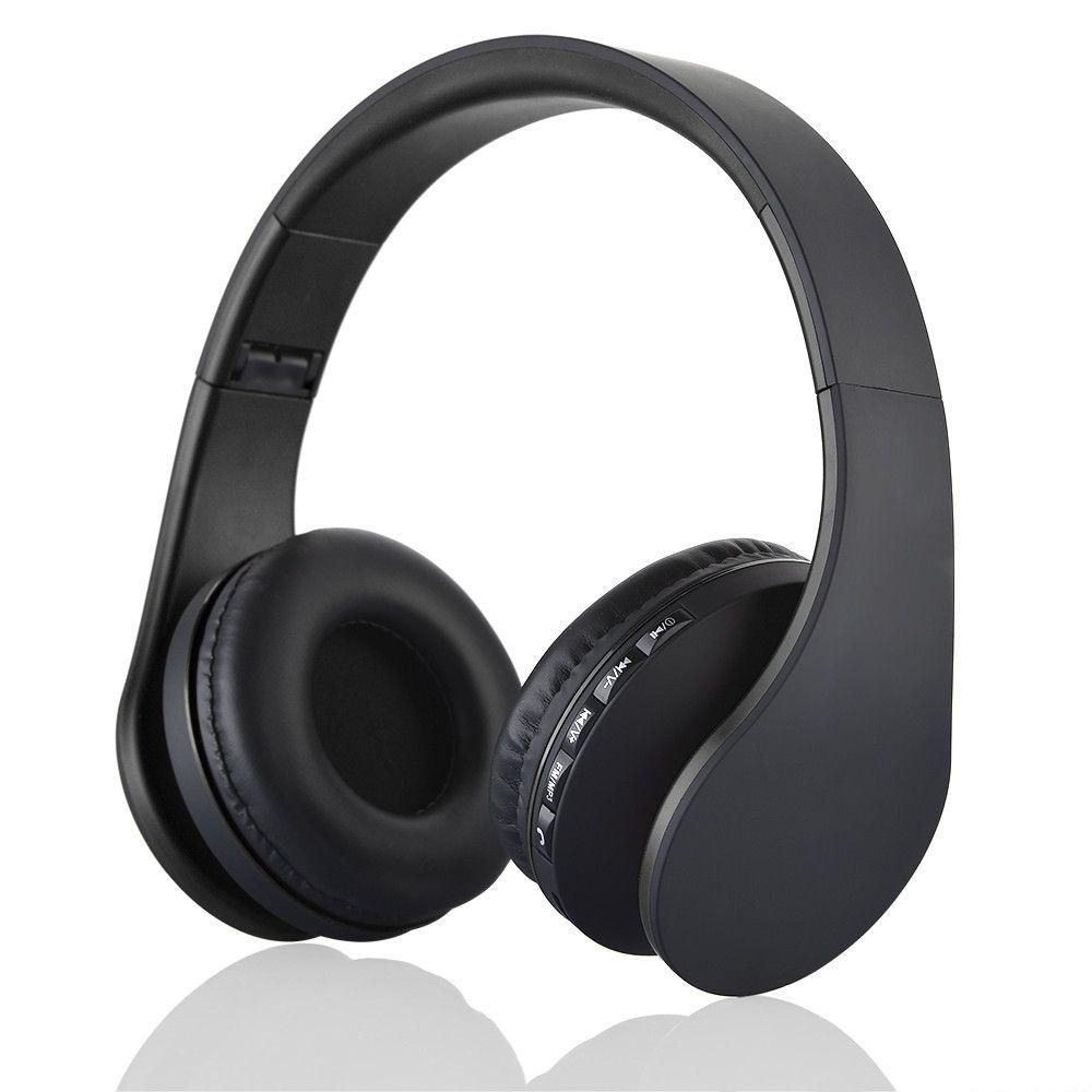 Andoer LH-811 4 em 1 Bluetooth 3.0 + EDR Fones De Ouvido fone de ouvido sem fio com MP3 Player rádio FM Micphone para Smart Phones PC V126
