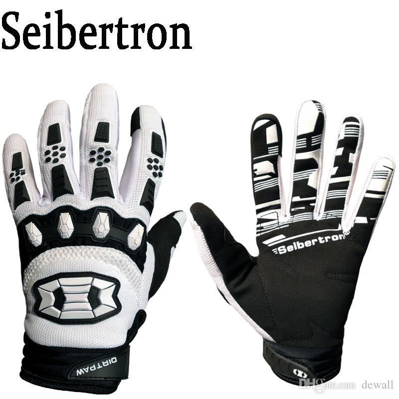 Seibertron Dirtpaw Men s BMX MX ATV Racing Gloves Bicycle MTB Racing ... dab29cbdd6