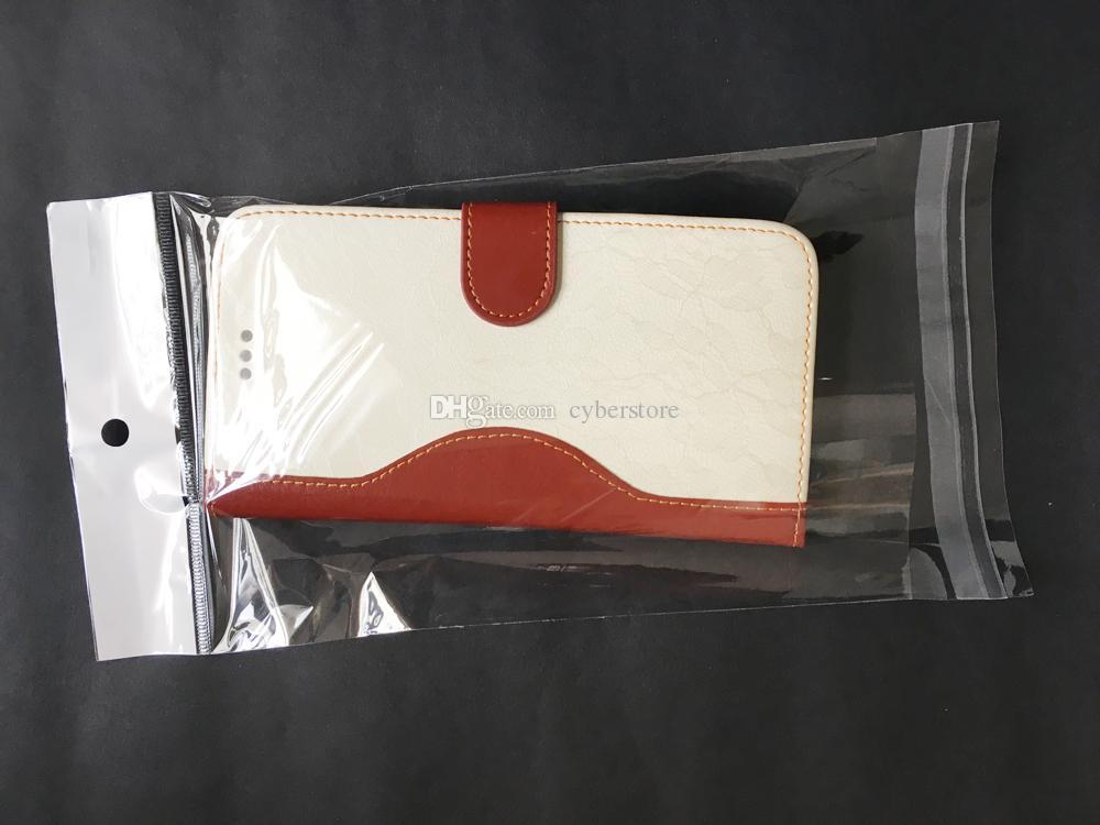 / lotti trasparente bianco semplice sacchetto Sacchetto di plastica, OPP poli sacchetti antipolvere l'iphone 6s 6plus 5 custodia in pelle dura