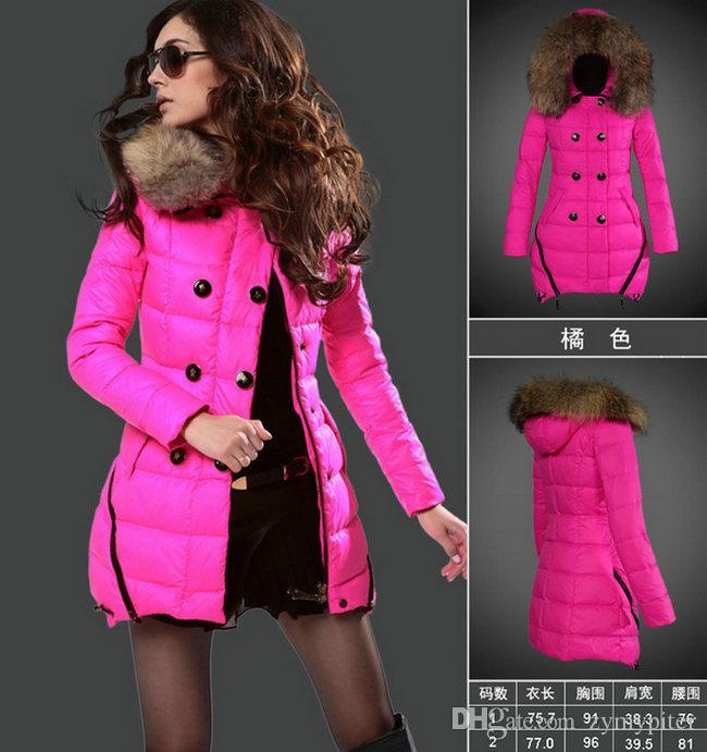 Online Cheap Womens Parkas Long Down Coats 2015 Winter Long Coats ...