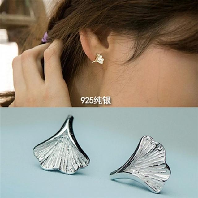 3b9cb2ade South Korea Sent Straight Earrings 925 Sterling Silver Earrings ...