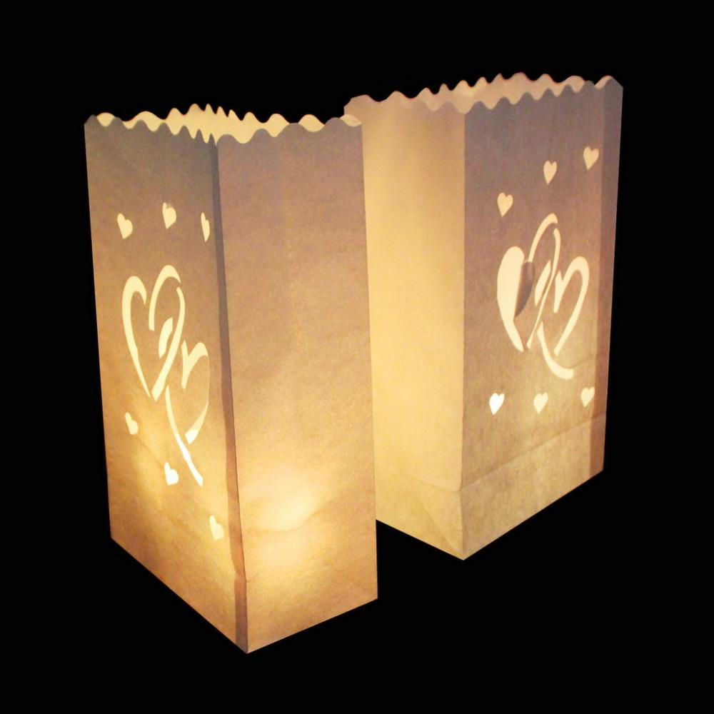 lottea light paper lantern candle holder bag for christmas halloween party wedding day decor supply wedding decorations cheap beach wedding