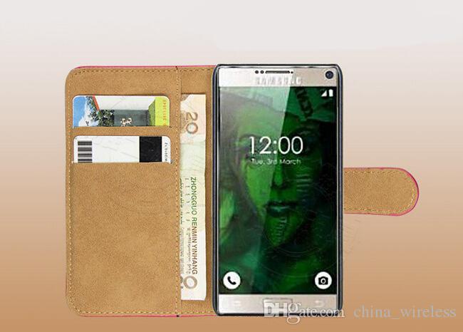 2016 новый чехол для samsung S7 / S7 plus / S7 edge case роскошные Табби натуральная кожа флип ультратонкий телефон обложка с карты памяти стенд