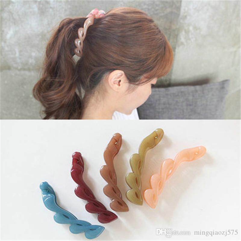 New Fashion Hair Clip Horsetail Hair Grip Cute Girls Women Hair Headwear Accessories Para El Pelo Back To Search Resultsapparel Accessories