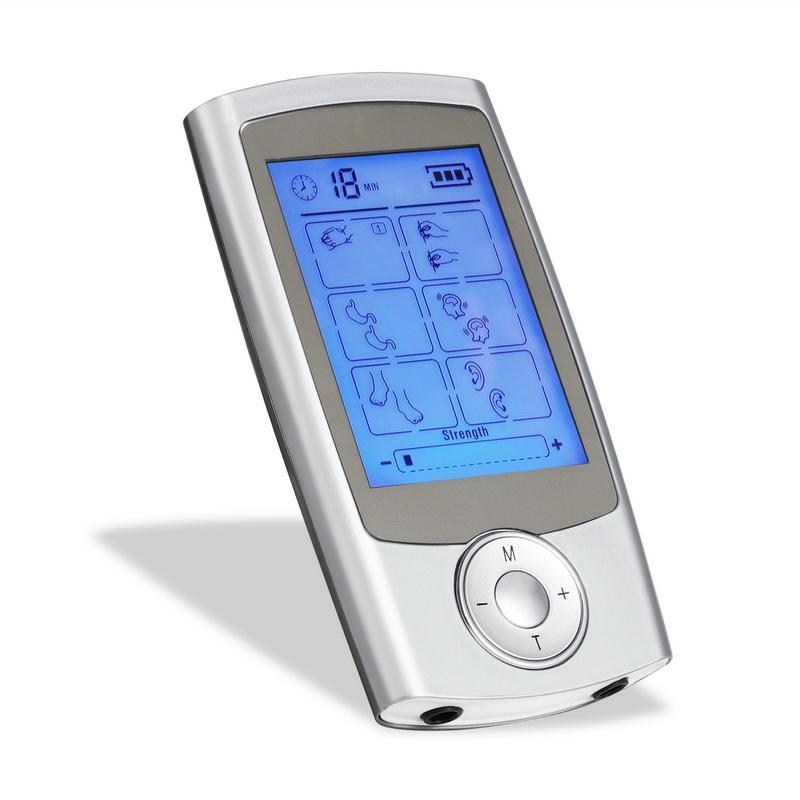 16 режимов здравоохранения тела массажер двойной десятки машин цифровой электрический терапия иглоукалывание Massageador стимулятор устройства
