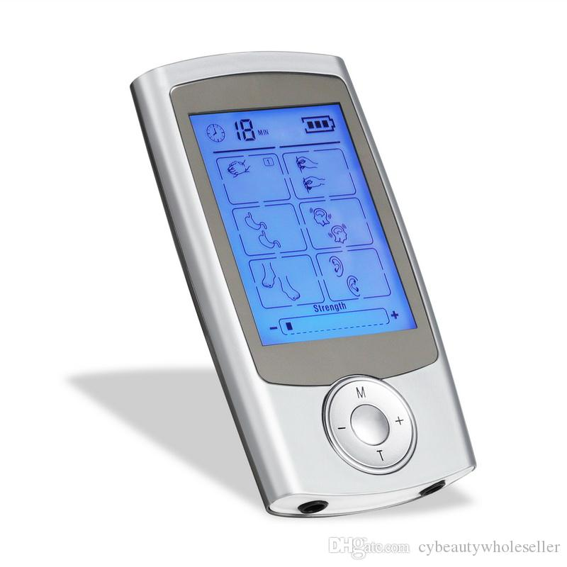 16 режимов электронный импульсный массажер обезболивание десятки блок машина стимулятор мышц электро терапия массаж тела устройство