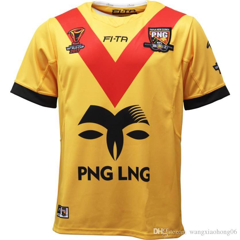 f3dafc8d5a4 RLWC 2017 MENS PAPUA NEW GUINEA JERSEY PAPUA NEW GUINEA 2017 WORLD ...
