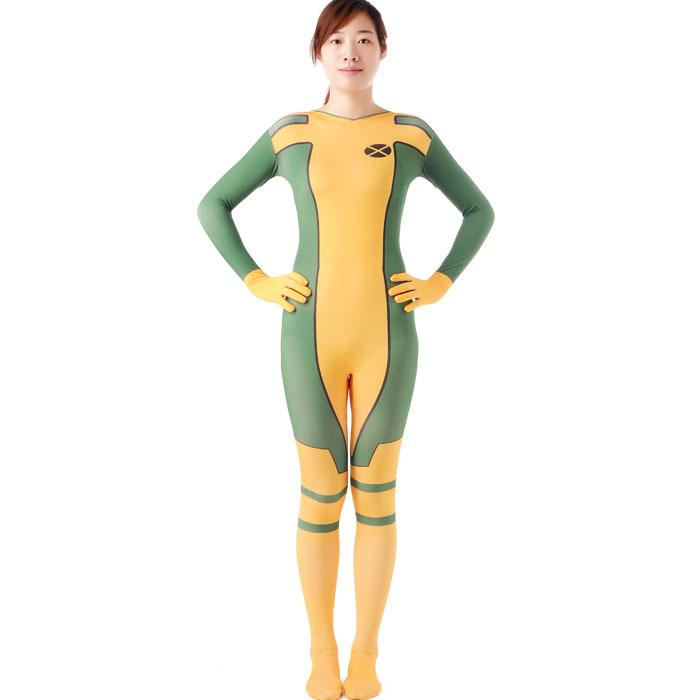 Rogue Costume X Men Adult Superhero Cosplay Halloween Costumes For Women Zetai Full Bodysuits Carnival Rogue Costume Women N Themed Costumes Group Women ...  sc 1 st  DHgate.com & Rogue Costume X Men Adult Superhero Cosplay Halloween Costumes For ...