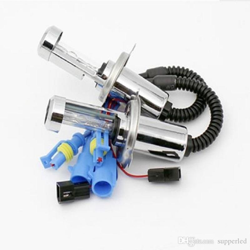 HID Xenon H4 xenon Hi/Low Dual Beam Bulbs 12V 35W Lamp for motor Headlight Replacement 3000/4300/5000/6000/8000/12000K