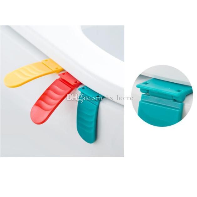 Dispositivo di copertura sedile WC pieghevole Design creativo di moda Facile da usare, colori ricchi, vesti la tua casa.
