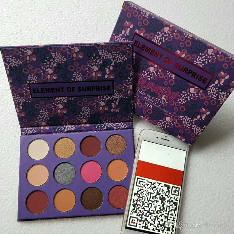Dropshipping Color Pop element of surprise makeup palette Brand eyeshadow palette eyeshadow cosmetics Christmas gift for girls