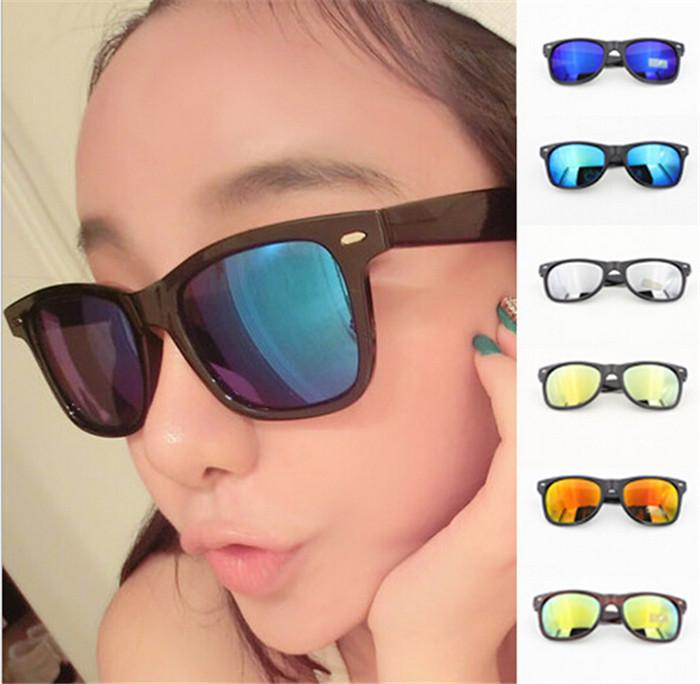 dcffc89e14ba Best Price Fashion Designer Multi Colors Mirror Lens Girl Sunglasses Women  Popular Rivets Eyewear Reflective Glasses D361 Sunglasses Uk Polarised  Sunglasses ...