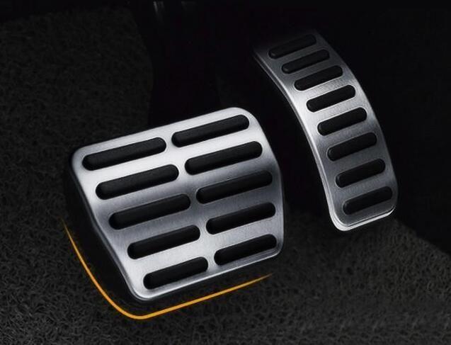for Volkswagen Polo 2011-2017 aluminium alloy clutch pedal,accelerator pedal,car footboard,brake pedal