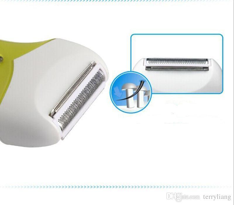 электрический 2 в 1 аккумуляторная Леди эпилятор бритвы тела удаление волос бритья машинка для стрижки водонепроницаемый триммер для удаления бритвы бикини стрижка