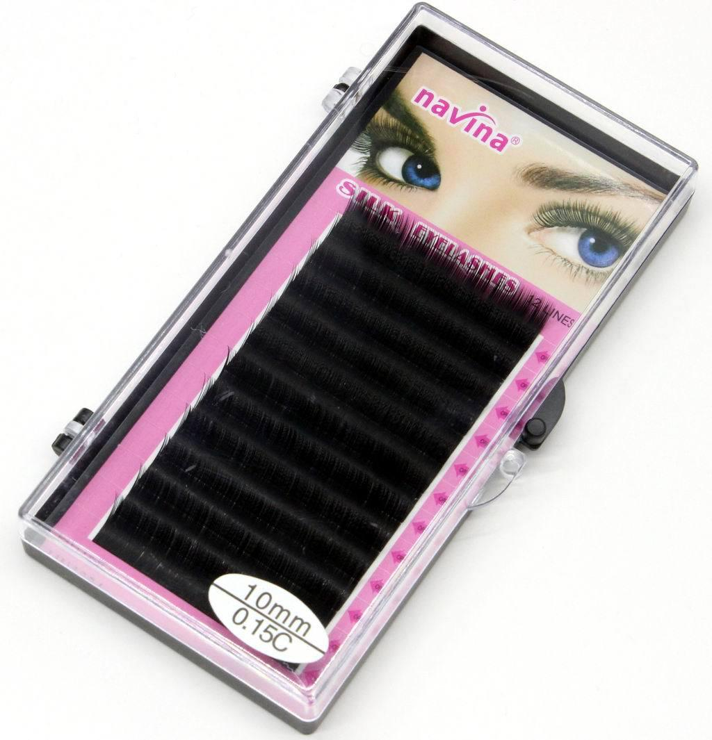 Professional Makeup 8mm 10mm 12mm 14mm MINK Individual Eyelash Extension maquiagem Handmade Artificial Fake False Eyelashes C-curl 12 Lines