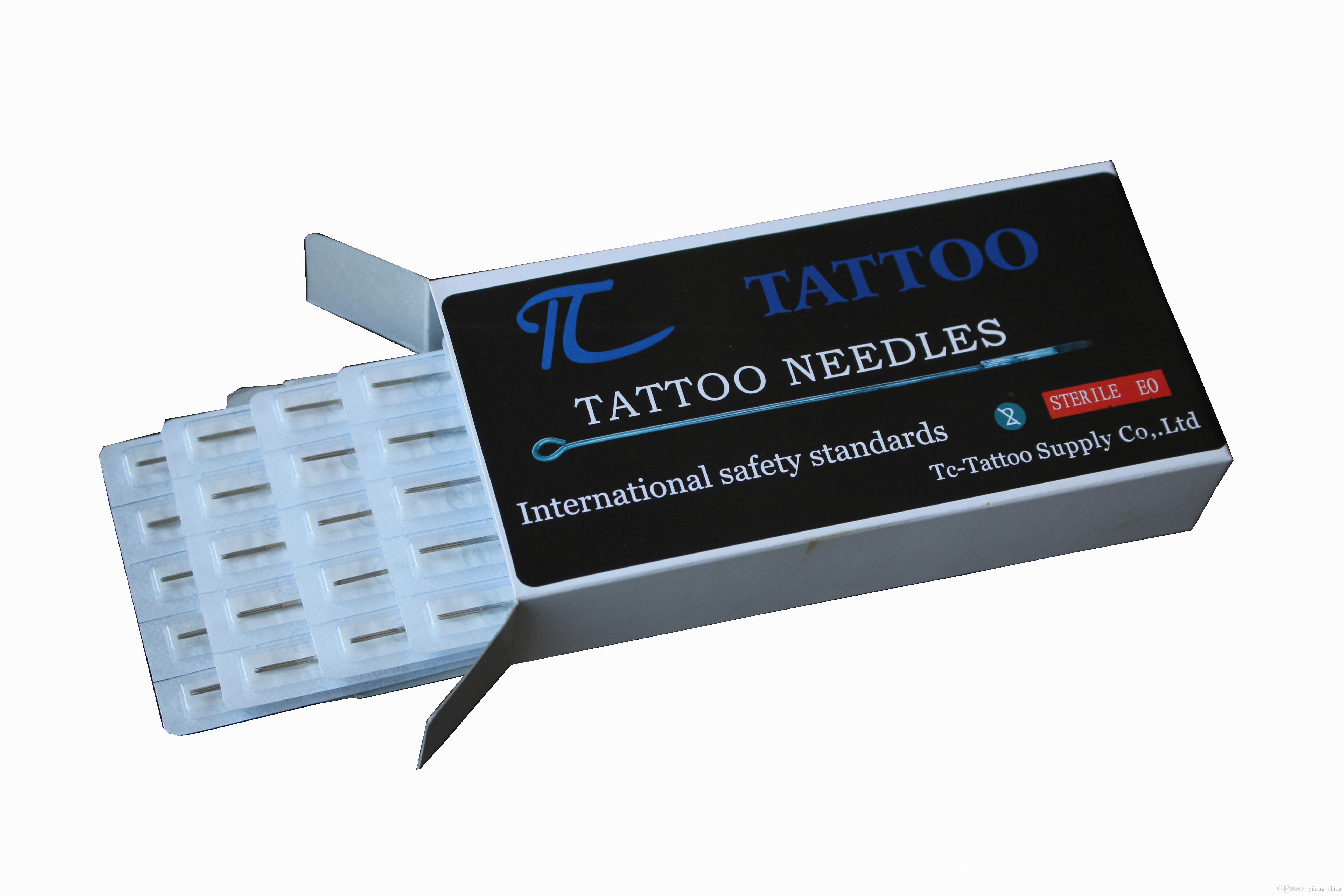 High Quality Convinient New 3RL Professional Tattoo Machine Stainless Steel Sterile Disposable Tattoo Needle