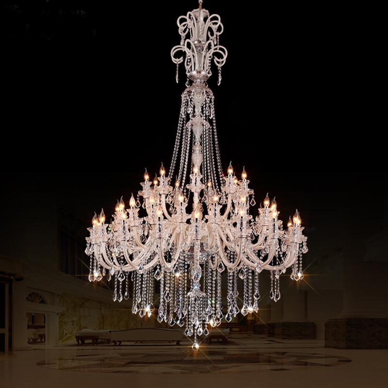 High Ceiling Chandelier Home Design Ideas Mount Chandeliers Quality Art Glass Hotel Large Crystal Contemporary