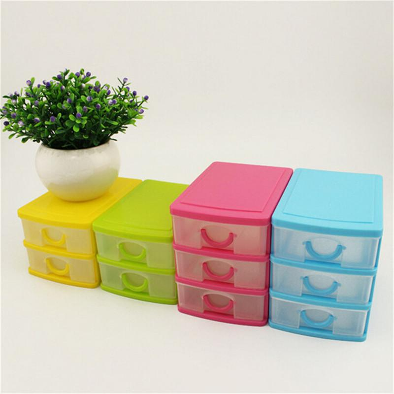 Candy Macaron Jewelry Box Plastic Storage Box Cosmetic Organizer
