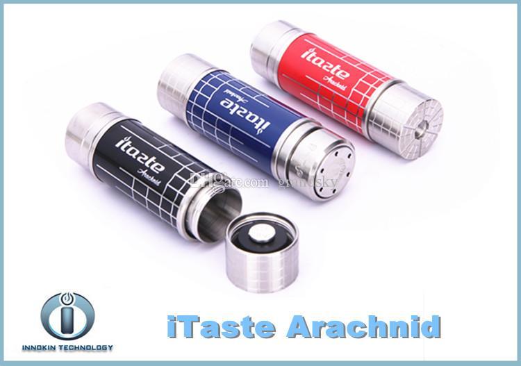 2015 Auténtico Innokin iTaste Arachnid Mecánica Mod 18350 18500 18650 Batería Arachnid Tubo telescópico Batería Envío Gratis
