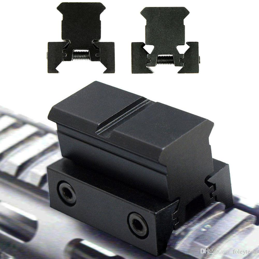 Tactical Reflex Red Green Dot Sight Scope w/ Dual High / Low Profile Rail Mounts