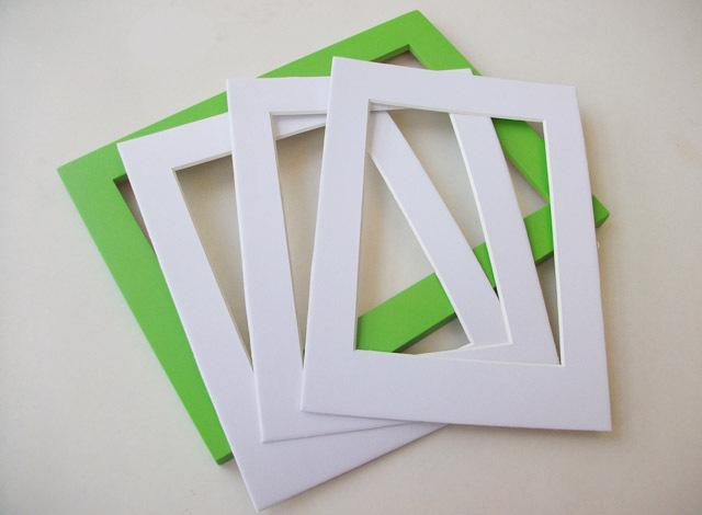 Paperboard Frame 6/7/8/10/12/24/A3/A4 Inch Photo Frame Cardboard,Can ...