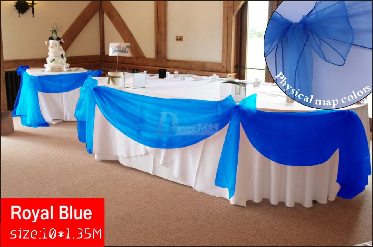Charmant The Same As The Chair Sash And Table Runner. Application: Wedding, Parties,  Celebrations, Graduations, Special Event, Banquet Events, Decorations. DIY  Etc.