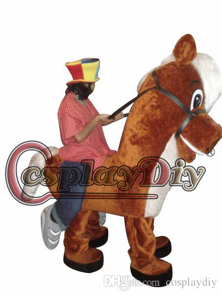 Custom Made Two Person Horse Illusion Mascot Costumes For Christmas And Halloween Party Adult Size High Quality Fancy Dress Austin Powers Costumes Goddess ...  sc 1 st  DHgate.com & Custom Made Two Person Horse Illusion Mascot Costumes For Christmas ...